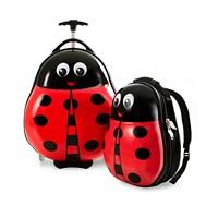2-Piece Heys Travel Tots Lady Bug Luggage & Backpack Set