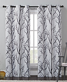 "Victoria Classics Kingdom Branch-Print 40"" X 84"" Blackout Window Panel"