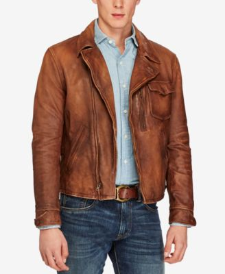 Men's Leather Jackets & Men's Leather Coats - Macy's