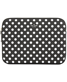 kate spade new york 13 Inch Dot Sleeve Laptop Case