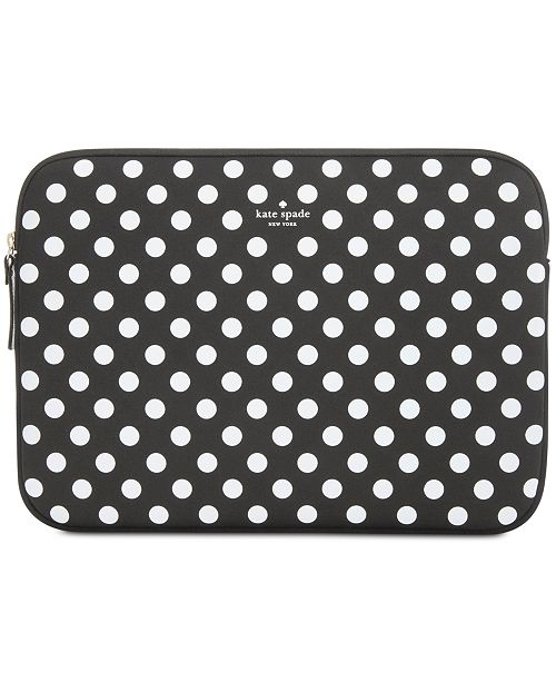 beautiful design fair price Clearance sale kate spade new york 13 Inch Dot Sleeve Laptop Case & Reviews ...