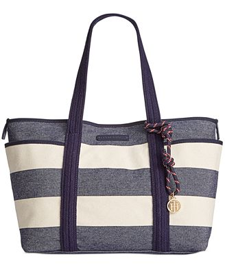 Tommy Hilfiger Dariana Rugby Extra-Large Tote