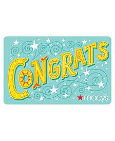 Congrats E-Gift Card