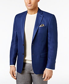 CLOSEOUT! Lauren Ralph Lauren Men's Big & Tall Classic-Fit Neat Ultra-Flex Sport Coat