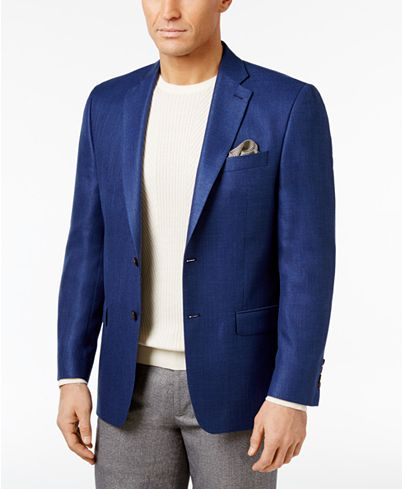 Ralph Lauren Men's Classic-Fit Neat UltraFlex Sport Coat