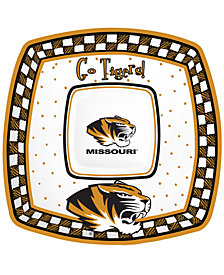 Memory Company Missouri Tigers Gameday Ceramic Chip & Dip Plate