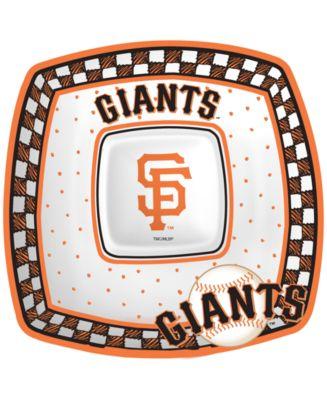 San Francisco Giants Gameday Ceramic Chip & Dip Plate