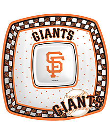 Memory Company San Francisco Giants Gameday Ceramic Chip & Dip Plate