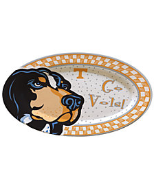 Memory Company Tennessee Volunteers Oval Platter