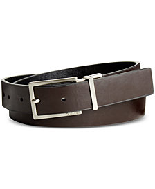 Calvin Klein Reversible Semi Shine Belt