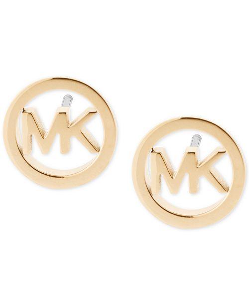 Michael Kors Logo Stud Earrings 16 Reviews Main Image