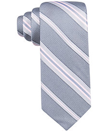 Ryan Seacrest Distinction™ Men's Imperial Stripe Slim Tie, Created for Macy's