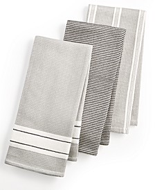 3-Pc. Waffle Weave Kitchen Towels, Created for Macy's
