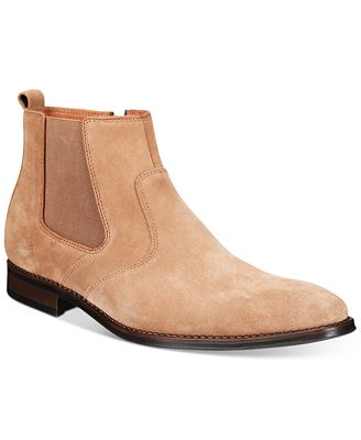 Bar Iii Men S Carson Suede Chelsea Boots Created For Macy