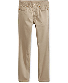 Ring of Fire Alexander Stretch Twill Pants, Big Boys, Created for Macy's