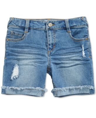 Image of Epic Threads Distressed Denim Shorts, Big Girls (7-16), Only at Macy's