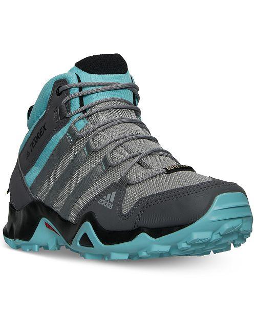 adidas Women's Terrex AX2 Mid GTX Outdoor Sneakers from