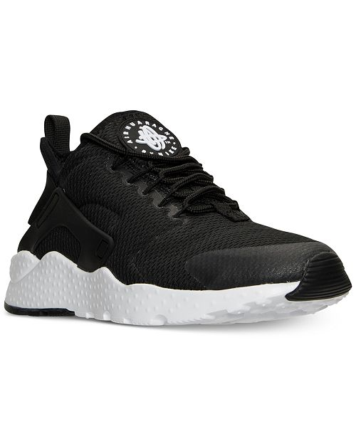 89e51f80461 ... Nike Women s Air Huarache Run Ultra Running Sneakers from Finish ...