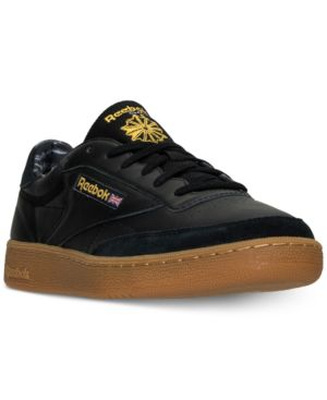 Men'S Club C 85 Tdg Casual Sneakers From Finish Line in Black