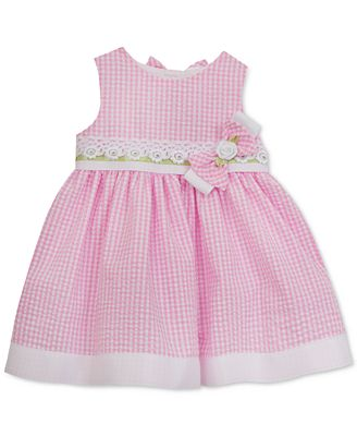 Rare Editions Gingham Party Dress Toddler & Little Girls