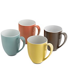 Pop Collection by Robin Levien 4-Pc. Mug Set