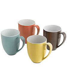 Nambé Pop Collection by Robin Levien 4-Pc. Mug Set