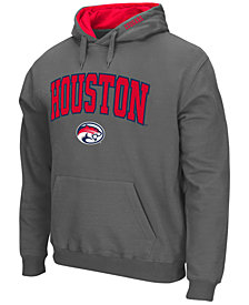 Colosseum Men's Houston Cougars Arch Logo Hoodie