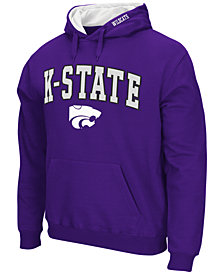 Colosseum Men's Kansas State Wildcats Arch Logo Hoodie