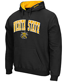 Colosseum Men's Wichita State Shockers Arch Logo Hoodie