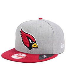 New Era Arizona Cardinals Heather 2-Tone 9FIFTY Snapback Cap