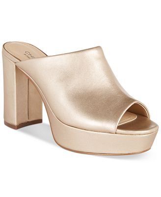 CHARLES by Charles David Miley Platform Mules