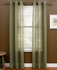 "Miller Curtains Sheer Preston Grommet 48"" x 84"" Panel"