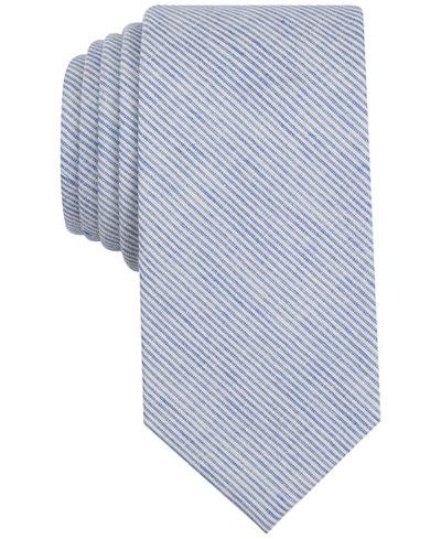 Bar Iii Men S Darlington Stripe Skinny Tie Created For Macy