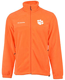 Columbia Men's Clemson Tigers Flanker Full-Zip Jacket