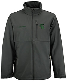 Columbia Men's Michigan State Spartans Ascender Softshell Jacket