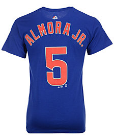 Majestic Men's Albert Almora Chicago Cubs Official Player T-Shirt