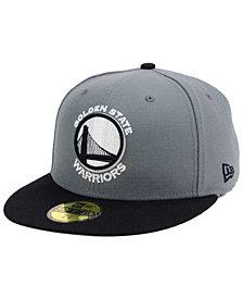 New Era Golden State Warriors 2-Tone Gray Black 59FIFTY Cap