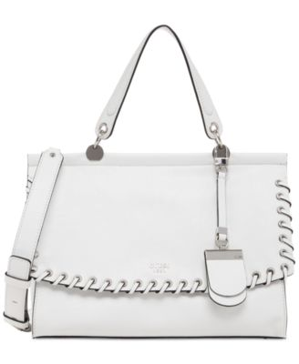 Image of GUESS Andie Top Handle Flap Satchel