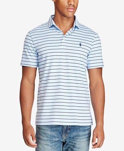 Polo Ralph Lauren Men's Classic-Fit Soft-Touch Striped Polo