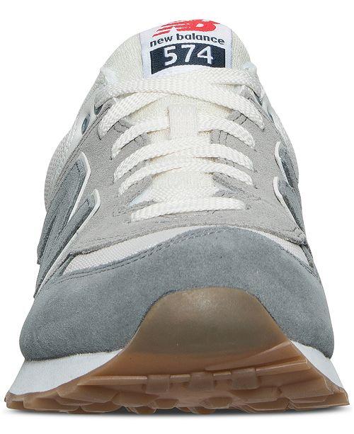 ea1372792bdd0e New Balance Men s 574 Retro Sport Casual Sneakers from Finish Line ...