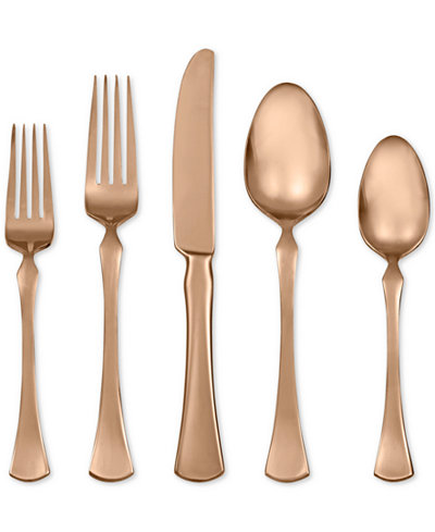 Refined Copper 5-Piece Place Setting by Skandia