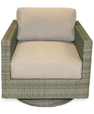 Northport Wicker Outdoor Swivel Club Chair