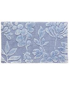 "bluebellgray Fleur 21"" x 34"" Cotton Bath Rug"