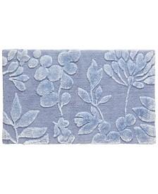 Bluebellgray Fleur 21 X 34 Cotton Bath Rug