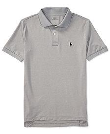 Ralph Lauren Moisture-wicking Tech Jersey Polo Shirt, Big Boys