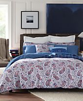 Tommy Hilfiger Tottenham Paisley Bedding Collection