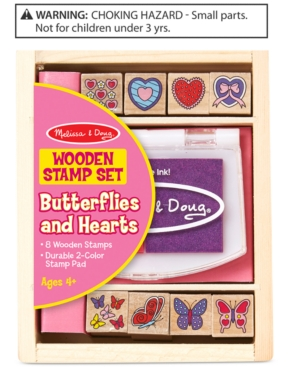 Melissa & Doug Butterflies & Hearts Wooden