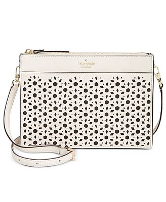 kate spade new york Cameron Street Perforated Small Clarise Crossbody