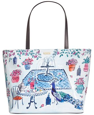 kate spade new york Full Plume Garden Francis Medium Tote