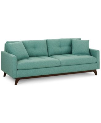Nari Tufted Back Sofa With 2 Toss Pillows, Created For Macyu0027s